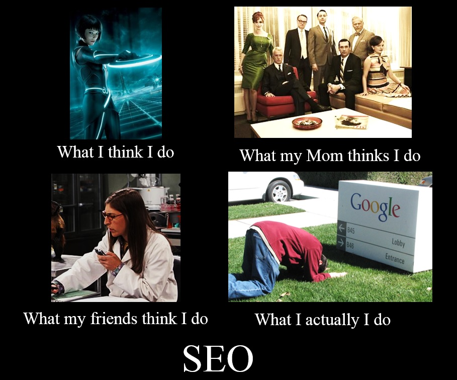 how everyone sees search engine optimization differently